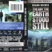 The Day The Earth Stood Still (2009) R1 Blu-Ray Cover & Labels