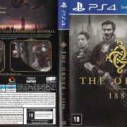 The Order 1886 (2015) PS4 Brazil Cover