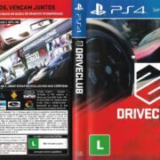 DriveClub (2014) PS4 Brazil Cover