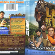 Land Of The Lost (2009) R1 Blu-Ray Cover & Label