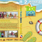 Teen Beach Movie Double Feature (2011-2014) R1 Custom Blu-Ray Cover