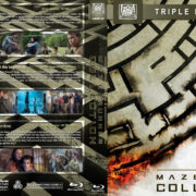 The Maze Runner Collection (2014-2018) R1 Custom Blu-Ray Cover