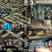 The Maze Runner Triple Feature (2014-2018) R1 Custom Blu-Ray Cover