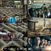 The Maze Runner Triple Feature (2014-2018) R1 Custom DVD Cover
