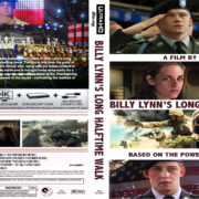 Billy Lynn's Long Halftime Walk (2016) R0 Custom 4K UHD Cover