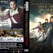 Pride & Prejudice & Zombies (2016) R0 Custom 4K UHD Cover