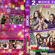 Bad Moms / A Bad Moms Christmas Double Feature (2016-2017) R1 Custom Blu-Ray Cover