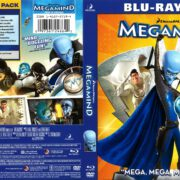 Megamind (2010) R1 Blu-Ray Cover