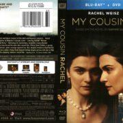 My Cousin Rachel (2017) R1 Blu-Ray Cover