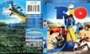 Rio (2011) R1 Blu-Ray Cover