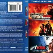 Spy Kids Triple Feature (2001-2003) R1 Blu-Ray Cover