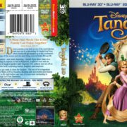 Tangled 3-D (2011) R1 Blu-Ray Cover