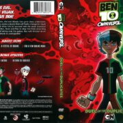 Ben 10 Omniverse: Duel of the Duplicates (2014) R1 DVD Cover
