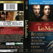 Les Miserables (2013) R1 Blu-Ray Cover