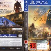 Assassin's Creed Origins (2017) PAL PS4 Cover