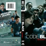 Code Black Season 1 (2016) R1 DVD Cover