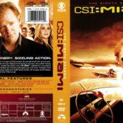 CSI: Miami Season 8 (2010) R1 DVD Cover