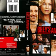 Grey's Anatomy Season 1 (2006) R1 DVD Cover