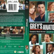Grey's Anatomy Season 9 (2013) R1 DVD Cover