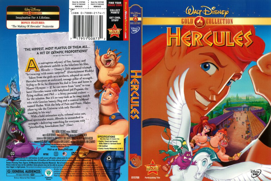 Hercules 1997 R1 Dvd Cover Dvdcover Com