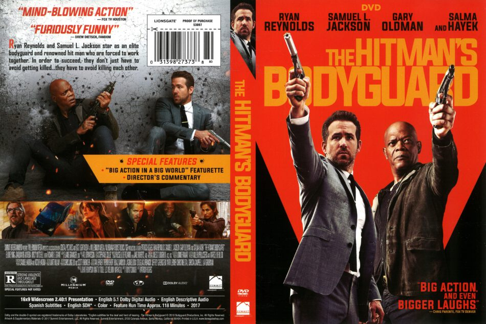The Hitman S Bodyguard 2017 R1 Dvd Cover Dvdcover Com