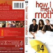 How I Met Your Mother Season 4 (2008) R1 DVD Cover