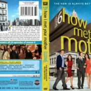 How I Met Your Mother Season 6 (2010) R1 DVD Cover
