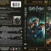 Harry Potter and the Deathly Hallows Parts 1 & 2 (2012) R1 DVD Cover