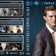 Fifty Shades Collection (2015-2018) R1 Custom Blu-Ray Cover