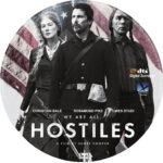 Hostiles (2017) R1 CUSTOM DVD Label