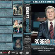 Robert Redford – Set 7 (2013-2016) R1 Custom DVD Covers