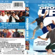 Grown Ups 2 (2013) R1 Blu-Ray Cover