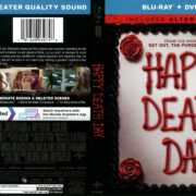 Happy Death Day (2017) R1 Blu-Ray Cover