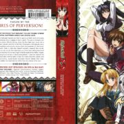 High School DxD (2012) R1 Blu-Ray Cover
