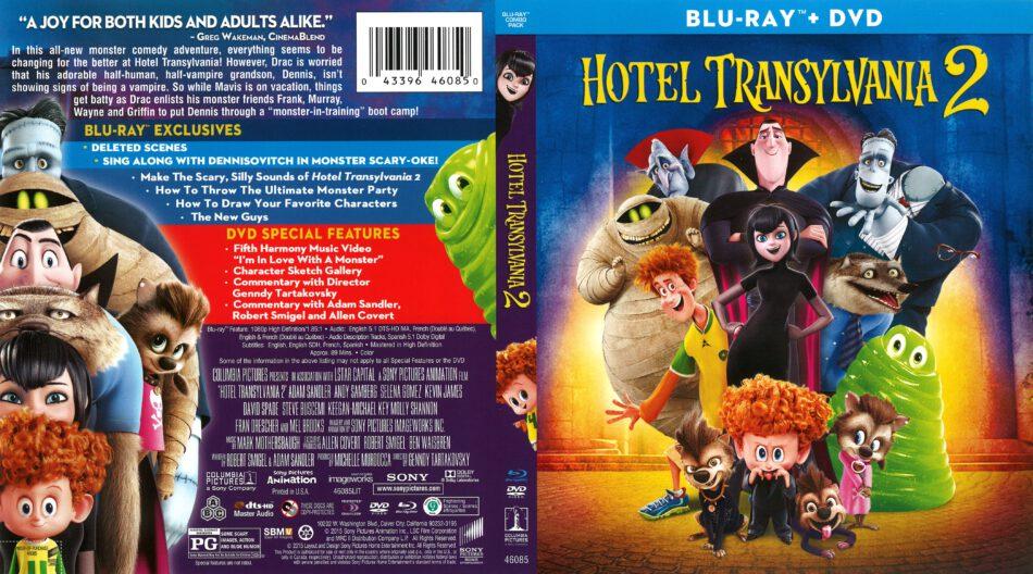 Hotel Transylvania 2 2015 R1 Blu Ray Cover Dvdcover Com