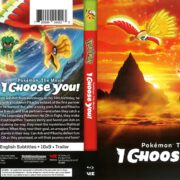 Pokemon the Movie: I Choose You! (2017) R1 Blu-Ray Cover
