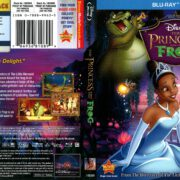The Princess and the Frog (2010) R1 Blu-Ray Cover