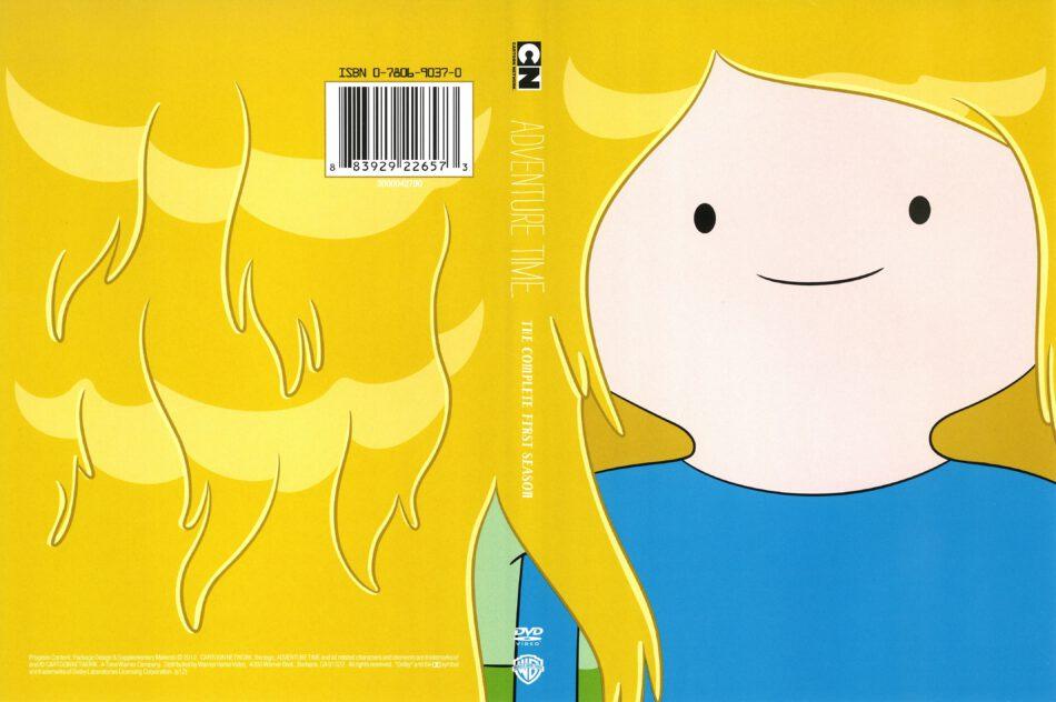 Adventure Time Season 1 (2012) R1 DVD Covers - DVDcover.Com