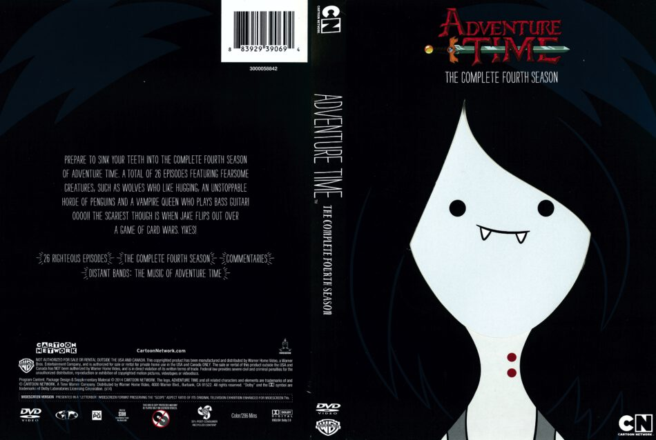 Adventure Time Season 4 (2014) R1 DVD Covers - DVDcover Com