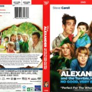 Alexander and the Terrible, Horrible, No Good, Very Bad Day (2015) R1 DVD Cover