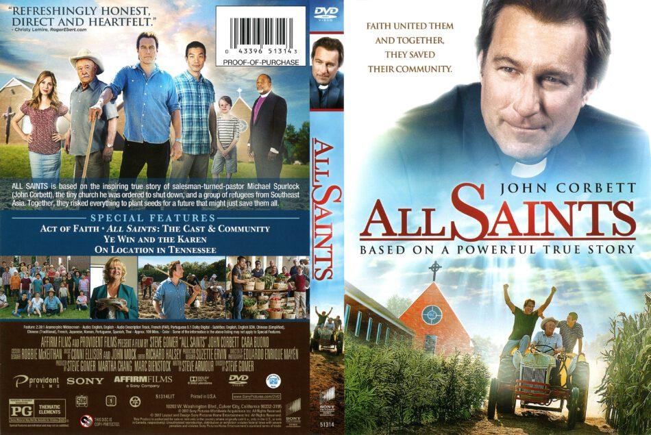 All Saints (2017) R1 DVD Cover - DVDcover.Com