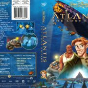 Atlantis: The Lost Empire (2001) R1 DVD Cover