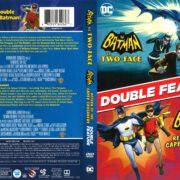 Batman Vs. Two-Face/Return of the Caped Crusaders Double Feature (2017) R1 DVD Cover