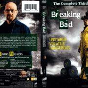 Breaking Bad Season 3 (2011) R1 DVD Cover