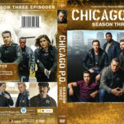 Chicago P.D. Season 3 (2016) R1 DVD Cover