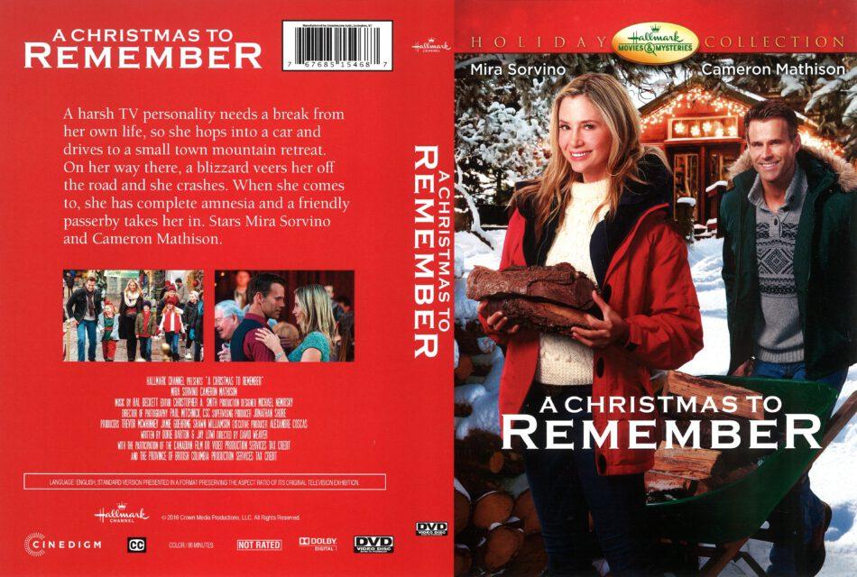 Christmas To Remember.A Christmas To Remember 2016 R1 Dvd Cover Dvdcover Com