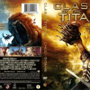 Clash of the Titans (2010) R1 DVD Cover