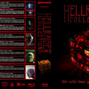 Hellraiser Collection (10) (1987-2018) R1 Custom Blu-Ray Cover