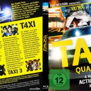 Taxi Quadrology (2007) R2 German Custom Blu-Ray Cover & Labels