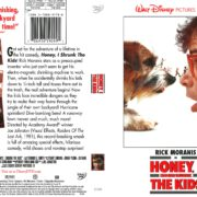 Honey, I Shrunk the Kids (1989) R1 DVD Cover